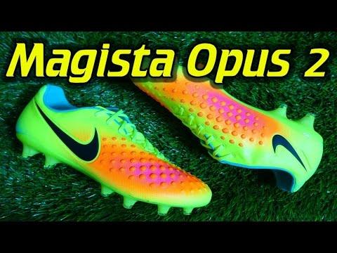 Nike Magista Opus 2 (Volt/Total Orange/Black) - Review + On Feet