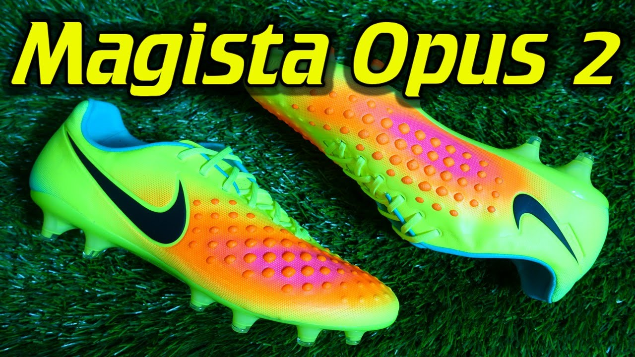 buy popular 10872 16f57 Nike Magista Opus 2 (Volt Total Orange Black) - Review + On Feet - YouTube