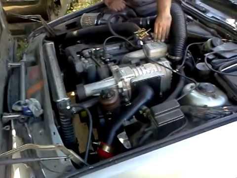 Bmw E34 M30 Supercharger Eaton M112 Test 2 Youtube