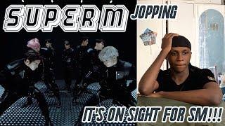 SuperM Jopping MV REACTION KAI IS A DAMN DEMON