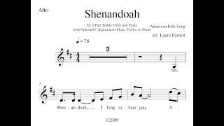 Shenandoah - Alto