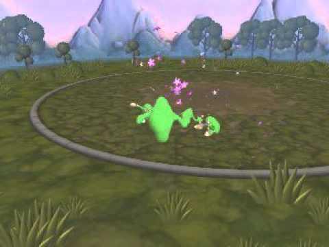 Spore Greenie From Luigi S Mansion Dark Moon Youtube