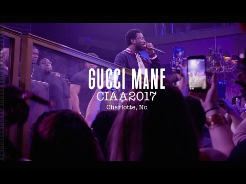 Gucci Mane Live @ Label Charlotte - CIAA Weekend 2017
