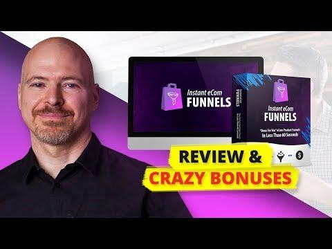 Instant eCom Funnels Review, Bonus & 50% Discount!. http://bit.ly/30DPdQ3