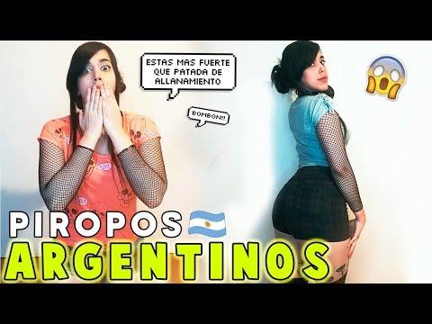 VENEZOLANA reacciona a PIROPOS ARGENTINOS   El vlog de Vivi