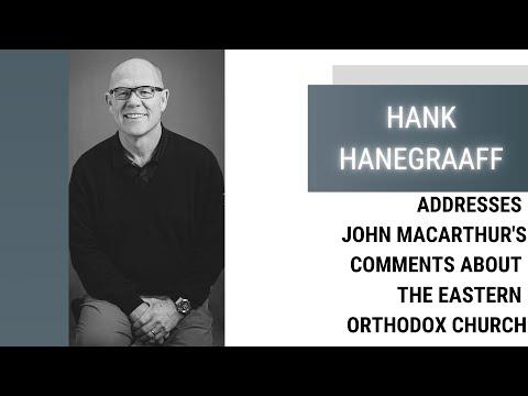 Hank Hanegraaff Addressing John MacArthur