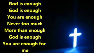 Lecrae - God Is Enough ft. Flame & Jai - lyrics