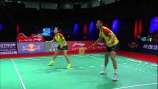 F - XD (Highlight) - Xu Chen/Ma Jin vs Ko Sung Hyun/Kim Ha Na - 2013 Sudirman Cup