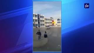 الأجهزة الأمنية تلقي القبض على شاب قام بالتفحيط داخل مدرسة وتسبب بدهس طالب