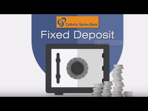 Catholic Syrian Bank Fixed Deposit