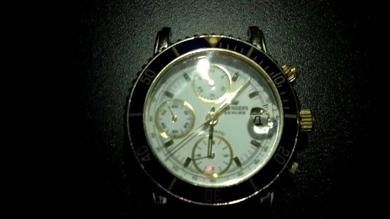Orologi a carica automatica: consigli sul corretto uso