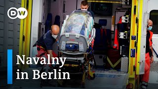 Navalny airlifted to Berlin after suspected poisoning in Russia | DW News
