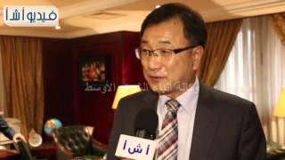 بالفيديو| مسئول ثقافي كوري اللغة الكورية أسهل من العربية