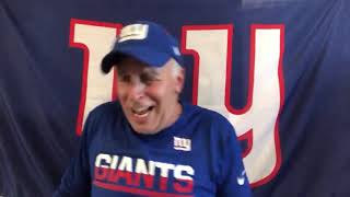 The NY Giants Post-Game Locker Room with Vic DiBitetto | You Don't Deserve Towels