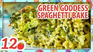 How to Make: Green Goddess Spaghetti Bake