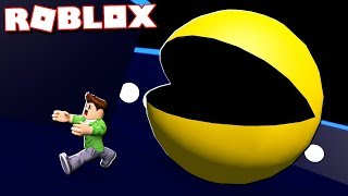 KILLER GIANT PACMAN IN ROBLOX!