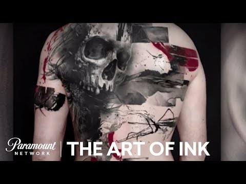 The Art of Ink: Trash Polka