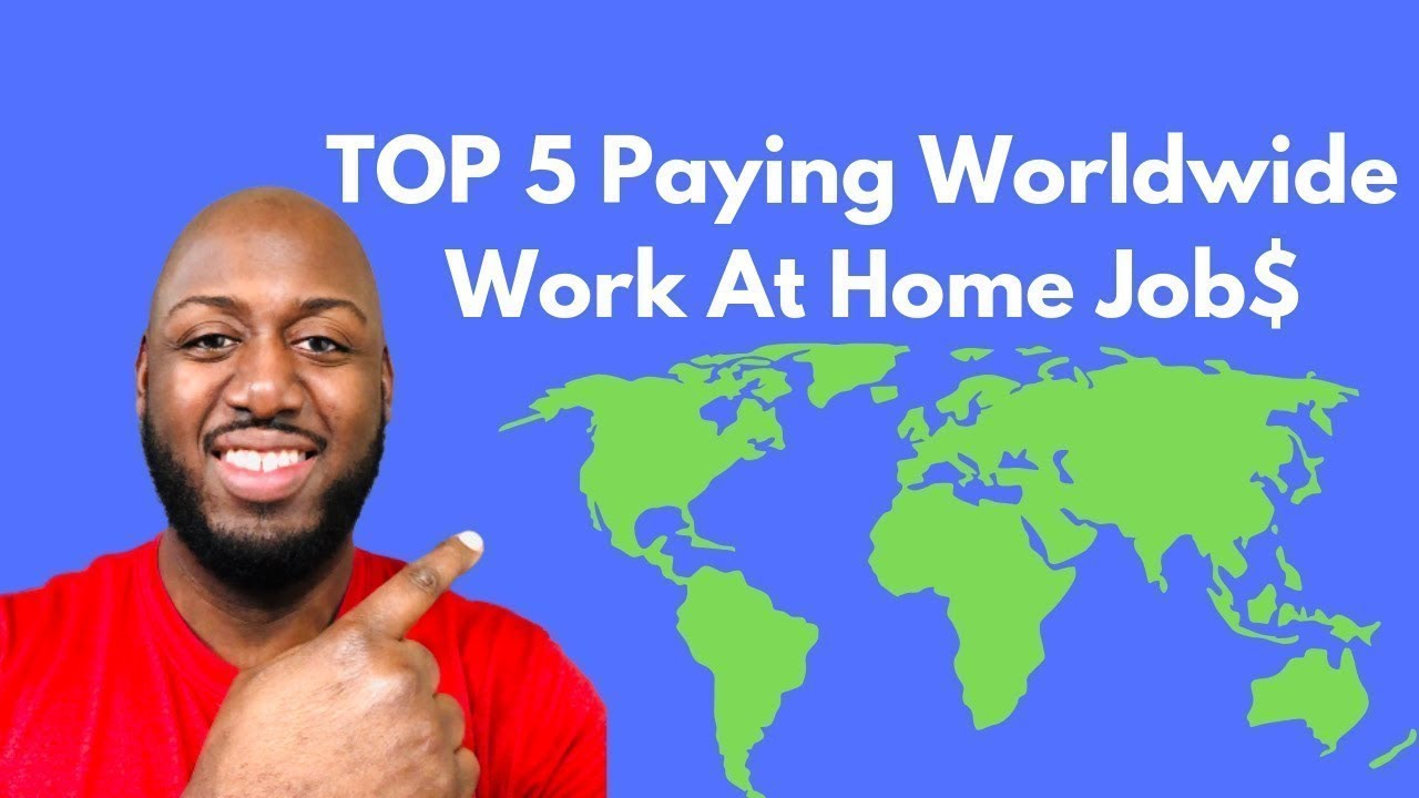 How To Find Legit International Work At Home Jobs | Work At