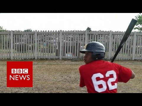 MLB scouts for African baseball stars - BBC News
