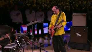 Carlos Santana Performs National Anthem at Oracle Arena
