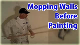 Steps painting new sheet rock or dry wall.  House painting Hacks.