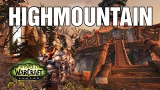 Get to High Ground Quest WoW Highmountain