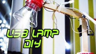 Как сделать мини USB настольную лампу своими руками?