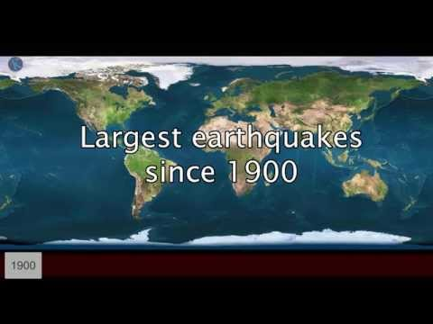 MOST POWERFUL EARTHQUAKES IN HISTORY - LARGEST EARTHQUAKE EVER MEASURED - STRONGEST EARTHQUAKE EVER