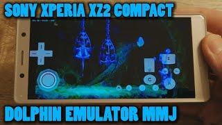 Sony Xperia XZ2 Compact - Rayman Origins - Dolphin Emulator MMJ - Test