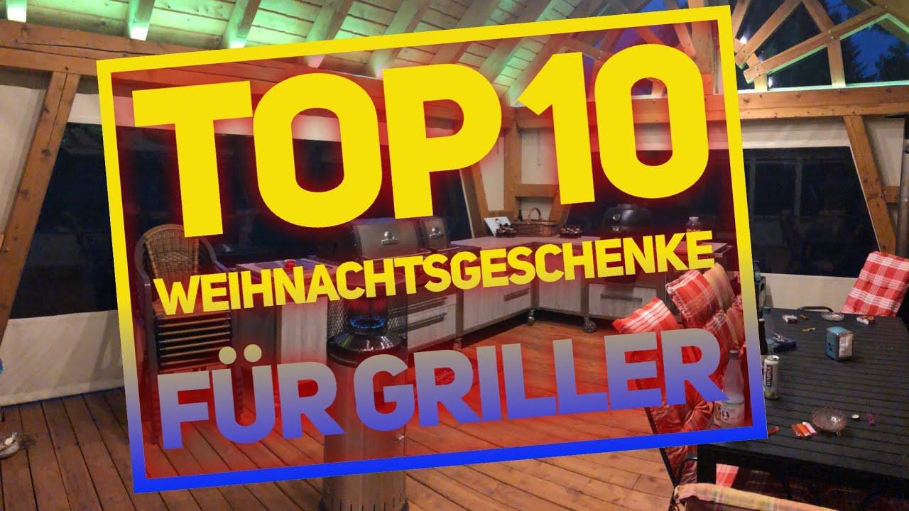 TOP 10 2018 WEIHNACHTSGESCHENKE zum GRILLEN —- Klaus grillt - YouTube