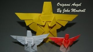 Origami Christmas Angel - How To Fold An Origami Angel