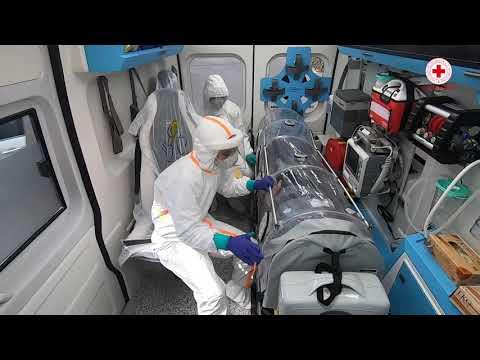L'Umanità nei momenti più drammatici: il trasporto di un paziente COVID-19