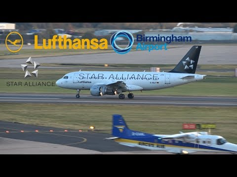Lufthansa Flight 952/953 (Frankfurt To BHX/BHX To Frankfurt)