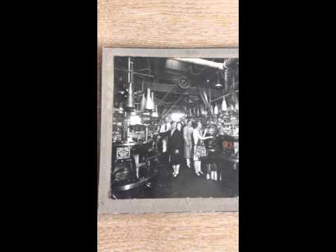 Ephemera Vintage Photograph Of A Leicester Knitwear Factory