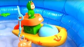 Мультики для маленьких: Малыши. Детская рыбалка