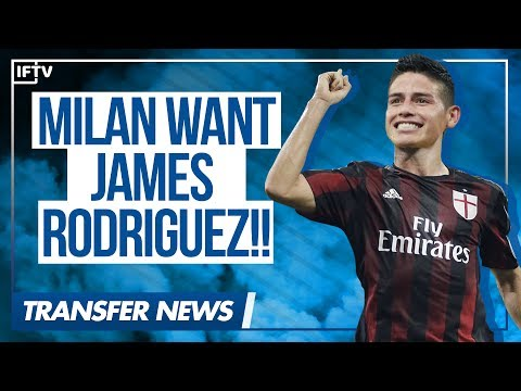AC MILAN GOING FOR JAMES RODRIGUEZ!! Could they sign him?? | Serie A Transfer News