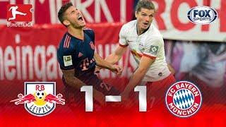 RB Leipzig - Bayern Múnich [1-1] | GOLES | Jornada 4 | Bundesliga