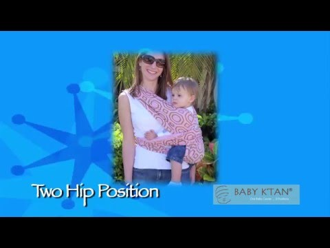 Baby Ktan Two Hip Position Instructions Youtube