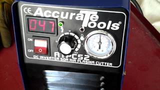 Chinese 50 amp plasma cutter WOW!!!!
