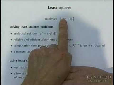 Lecture 1 | Convex Optimization I (Stanford)