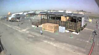 Oct. 4, 2013 Solar Decathlon 2013 Timelapse West