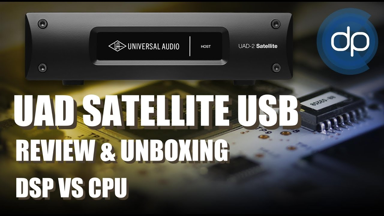 UAD Satellite USB 3 0 |REVIEW| Unboxing | DSP VS CPU| Español