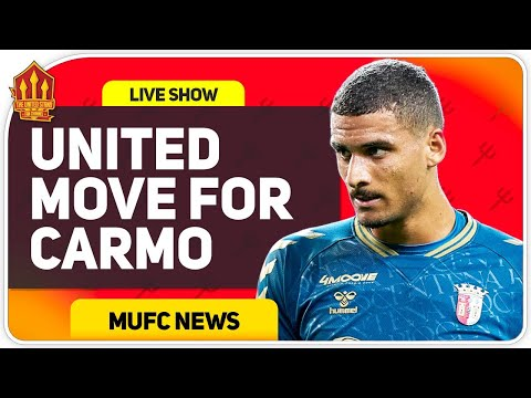 Man Utd Transfer Talks With David Carmo? Man Utd News Now
