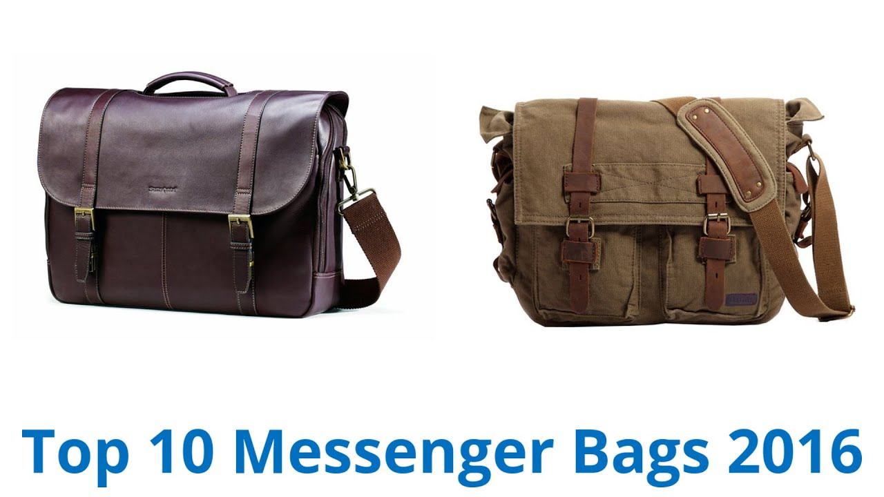 10 Best Messenger Bags 2015 - YouTube