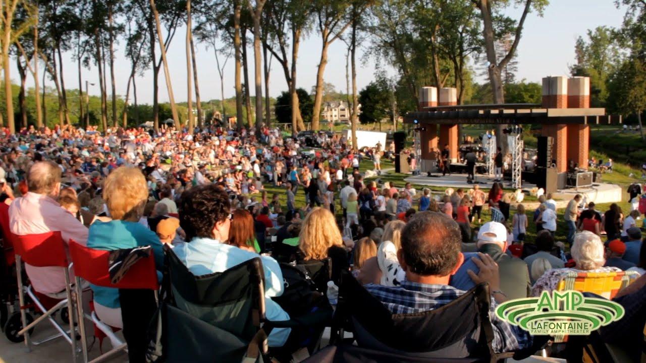 The LaFontaine Family Amphitheater | Milford, MI - YouTube