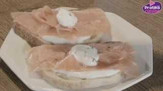 Comment faire des tartines de la mer pour moins de 5 Euros