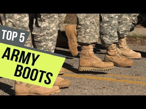 5 Best Army Boots 2019 Reviews