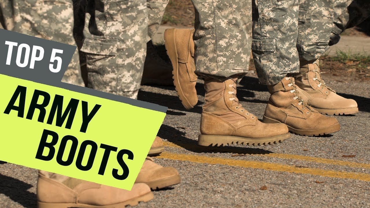 5 Best Army Boots 2019 Reviews - YouTube