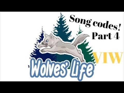 Wolves Life 3 Roblox | Song Codes for VIW PART 4 | Nightcore & Drake Edition