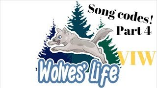 Wolves Life 3 Roblox   Song Codes for VIW PART 4   Nightcore & Drake Edition